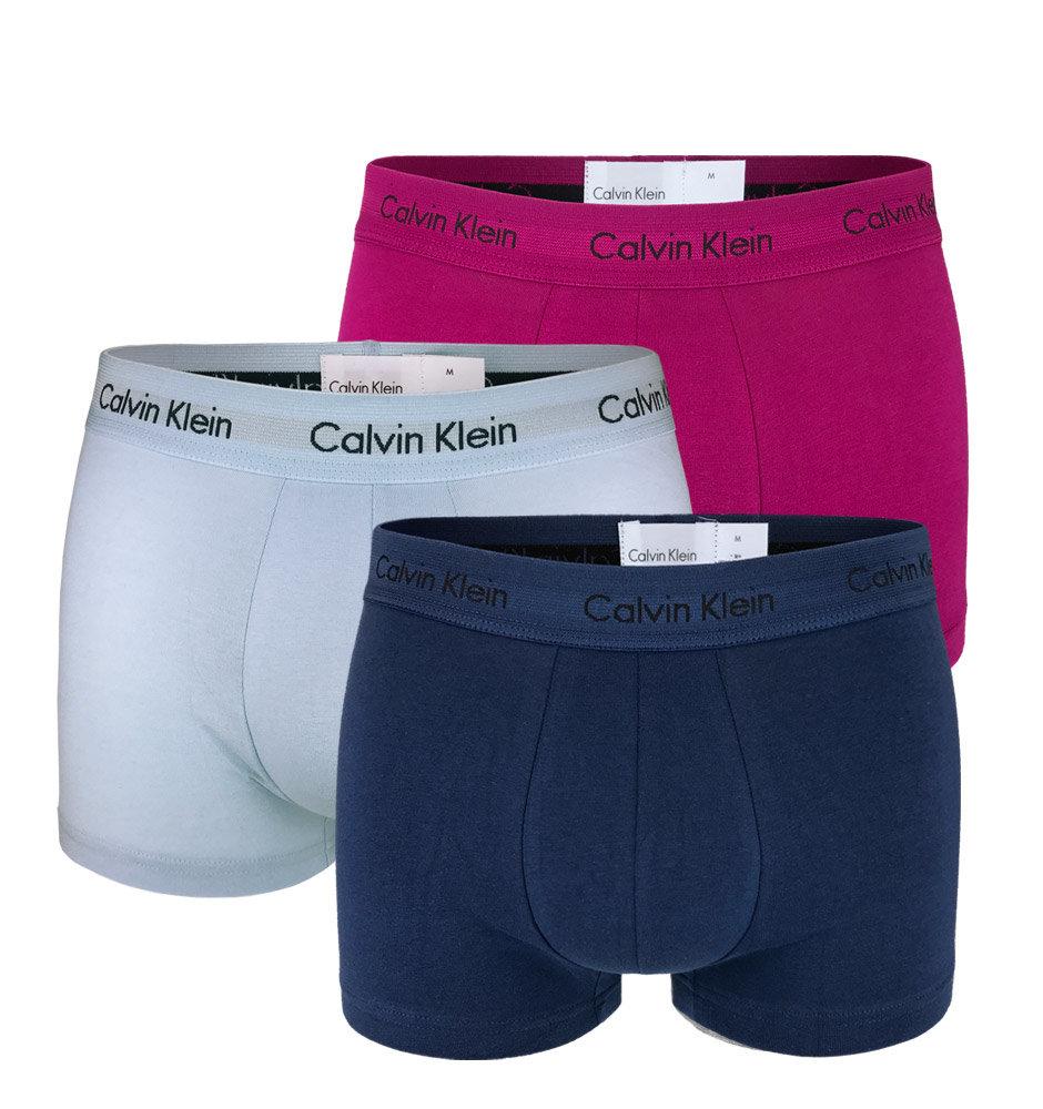 55f9b4d7d2 Calvin Klein 3Pack - Cotton Stretch Blue multicolor boxerky ...