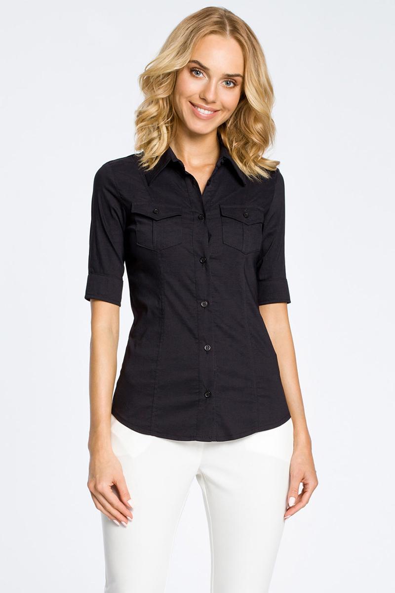 Čierna košeľa MOE 027