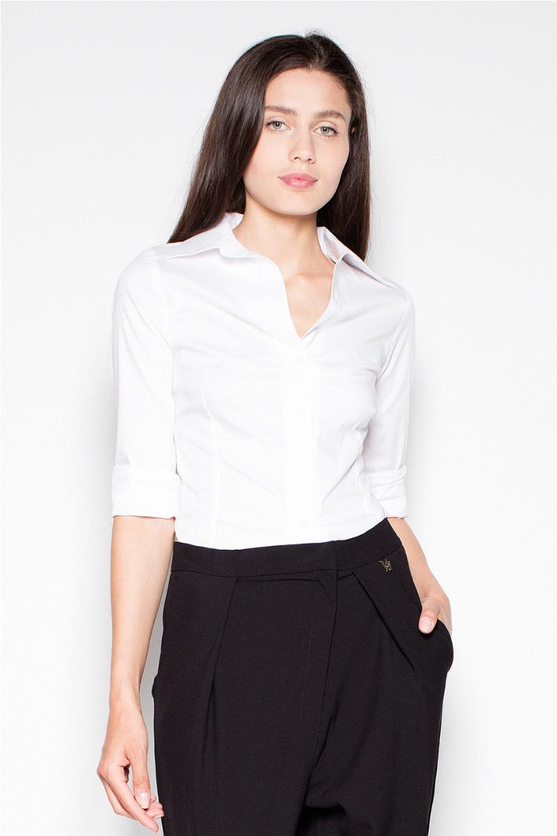Biela košeľa VT028