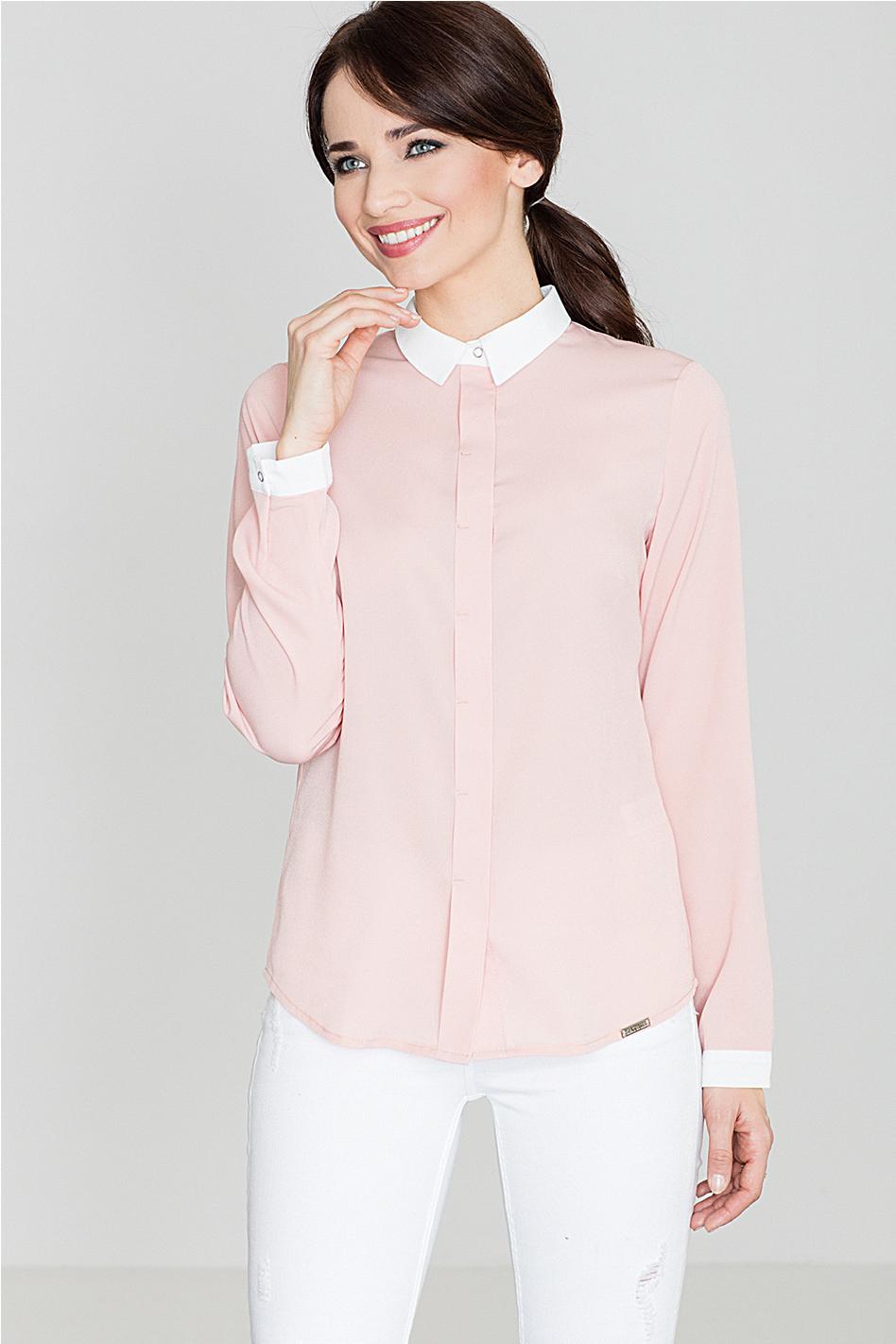 Ružová košeľa K275