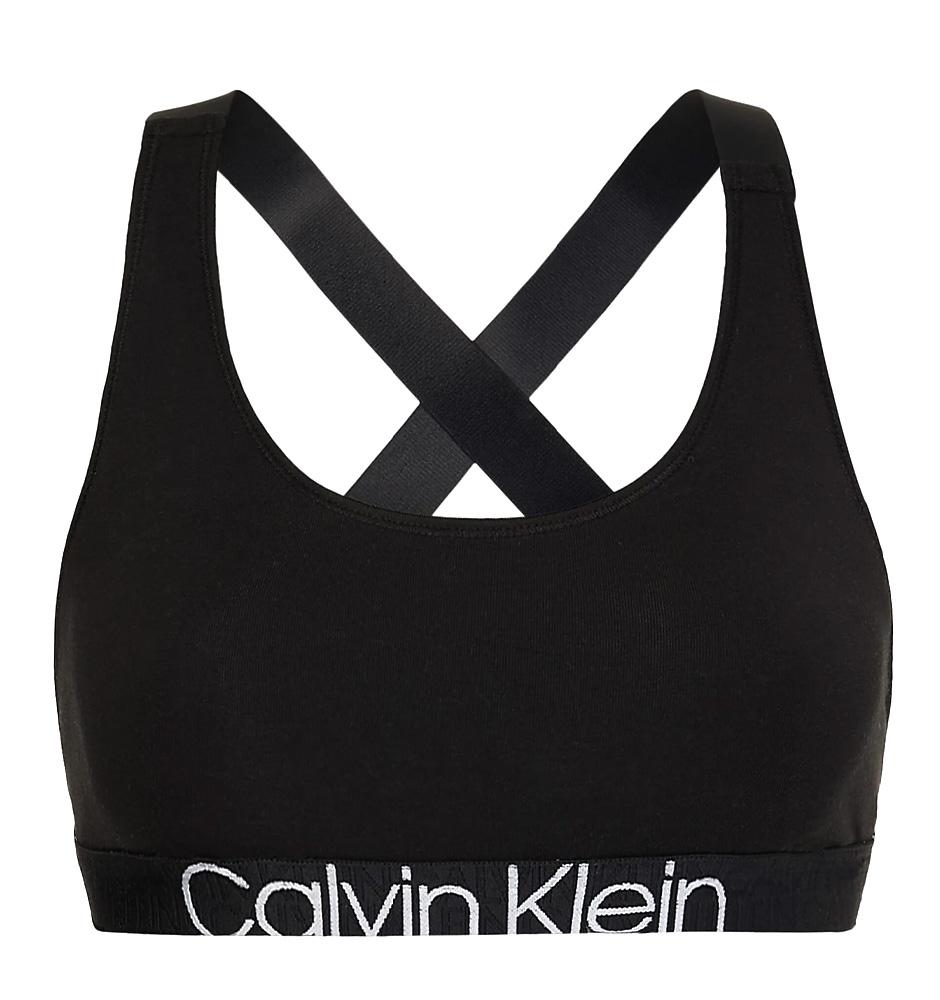 CALVIN KLEIN - black color unlined bralette